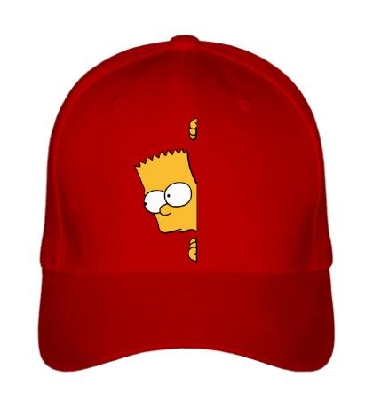 Бейсболка Барт подглядывает
