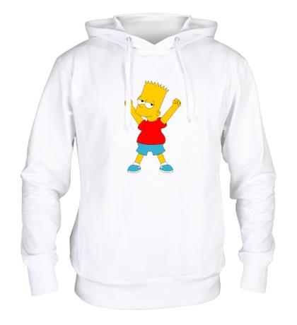Толстовка с капюшоном Маленький Барт Симпсон