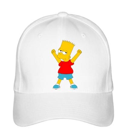Бейсболка Маленький Барт Симпсон
