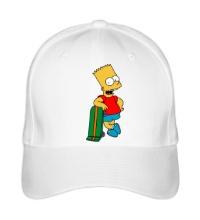Бейсболка Барт со скейтом