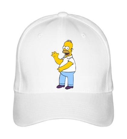 Бейсболка Удивленный Гомер