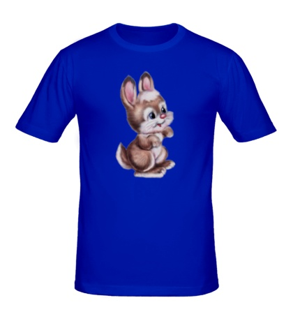 Мужская футболка Маленький зайчонок