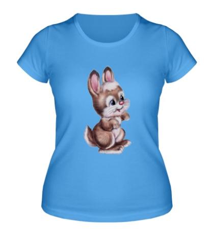 Женская футболка Маленький зайчонок