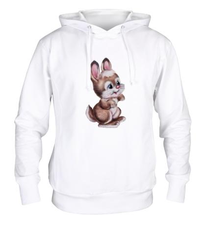 Толстовка с капюшоном Маленький зайчонок