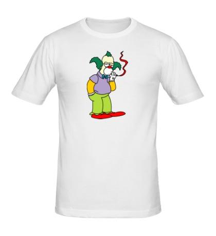 Мужская футболка Клоун Красти