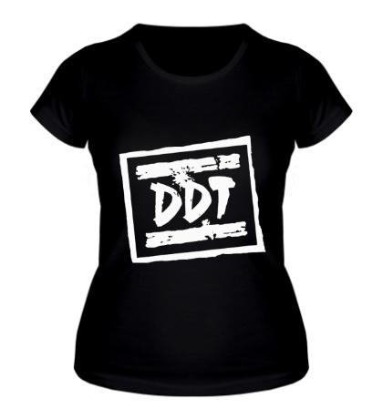 Женская футболка ДДТ