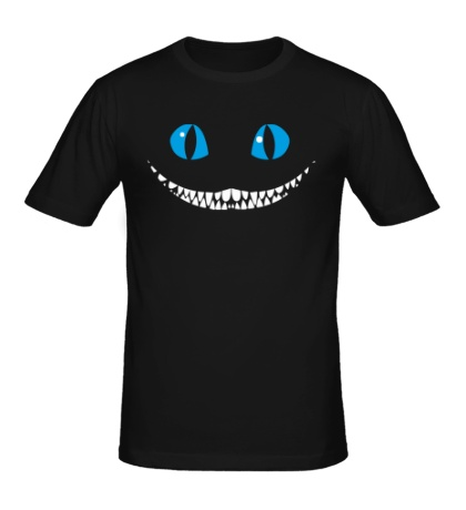 Мужская футболка Улыбка Чеширского кота