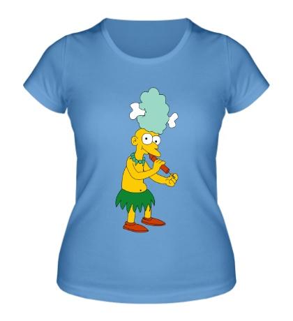 Женская футболка Помощник Красти