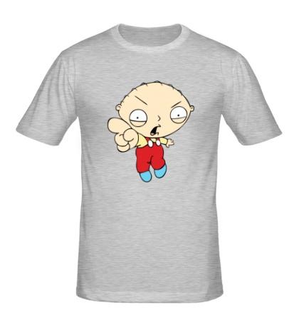Мужская футболка Грозный Стьюи
