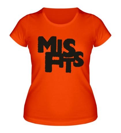 Женская футболка Отбросы