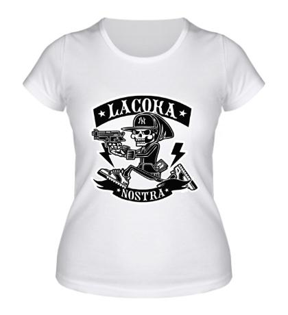 Женская футболка Lacoka Nostra