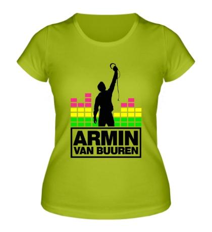 Женская футболка Armin van Buuren Music