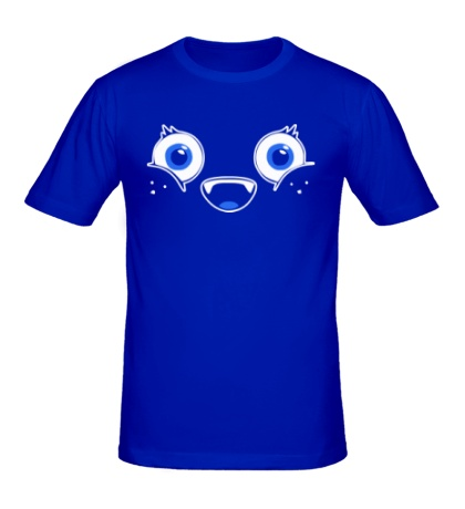 Мужская футболка Happy face