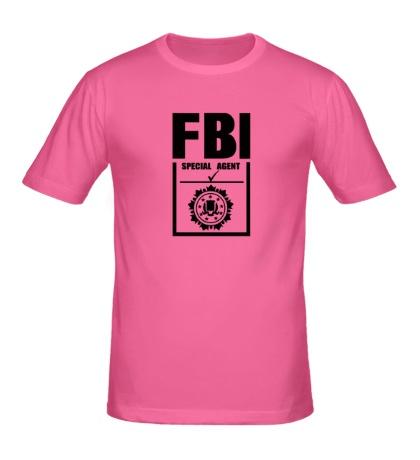 Мужская футболка FBI Special agent
