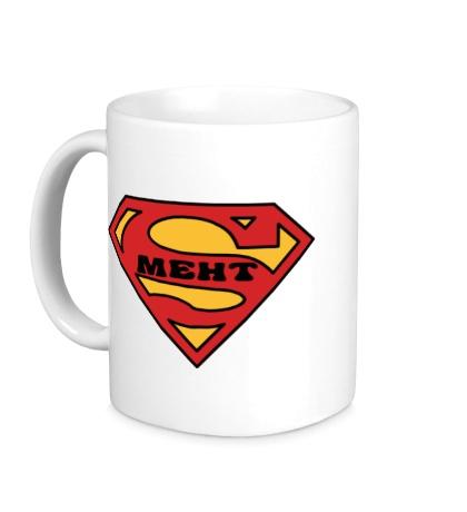 Керамическая кружка Super Мент