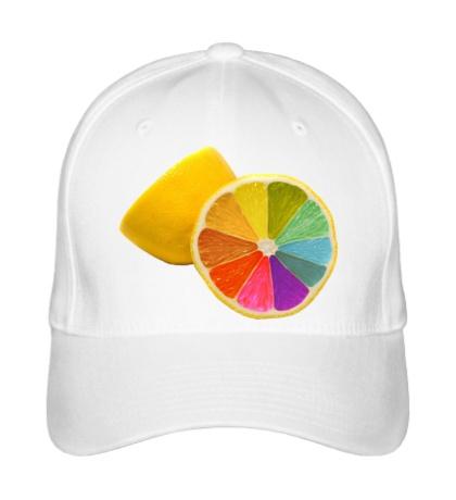 Бейсболка Радужный лимон