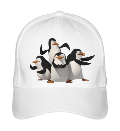 Бейсболка Пингвины Мадагаскара