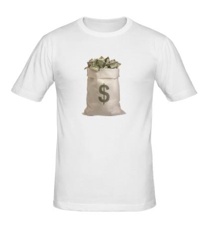 Мужская футболка Мешок с деньгами