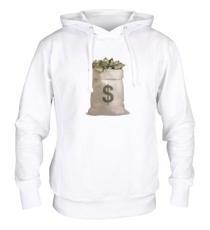 Толстовка с капюшоном Мешок с деньгами