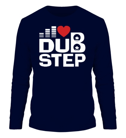 Мужской лонгслив Dubstep love