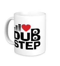 Керамическая кружка Dubstep love
