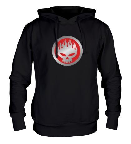 Толстовка с капюшоном The Offspring Symbol