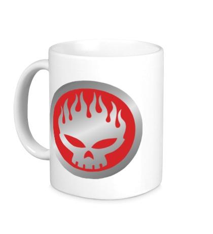 Керамическая кружка The Offspring Symbol