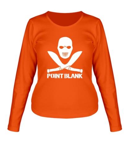 Женский лонгслив Point Blank Mask