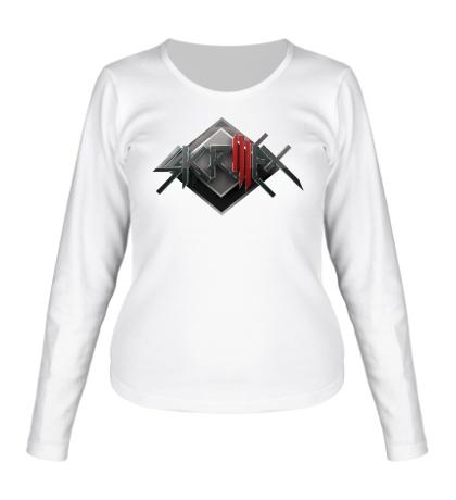 Женский лонгслив Skrillex Shield