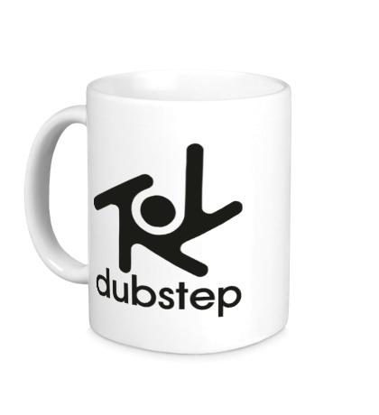 Керамическая кружка Dubstep Symbol
