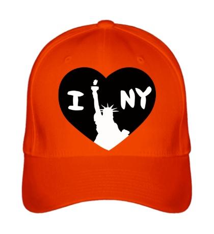 Бейсболка New York Love
