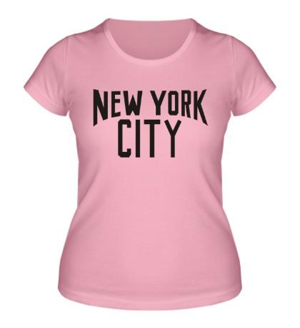 Женская футболка New York City