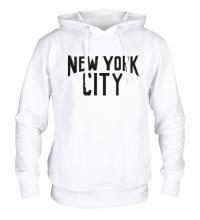 Толстовка с капюшоном New York City