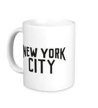 Керамическая кружка New York City