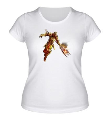 Женская футболка Aion Gladiator