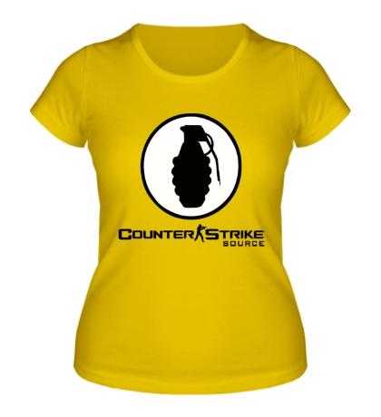 Женская футболка Counter-Strike: Source