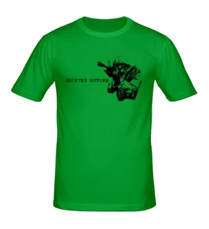 Мужская футболка CS 1.6
