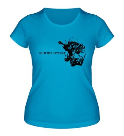 Женская футболка CS 1.6