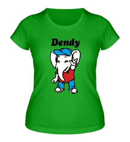 Женская футболка Dendy