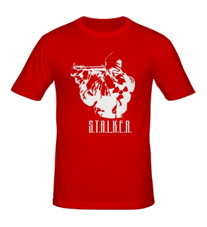 Мужская футболка STALKER Solider
