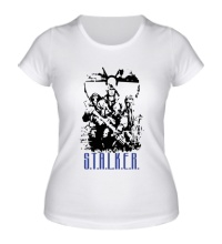 Женская футболка STALKER Wars