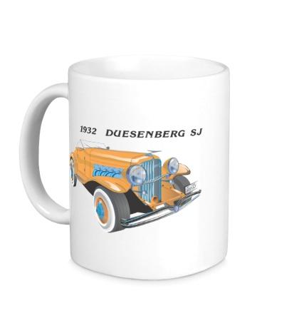 Керамическая кружка 1932 Duesenberg SJ