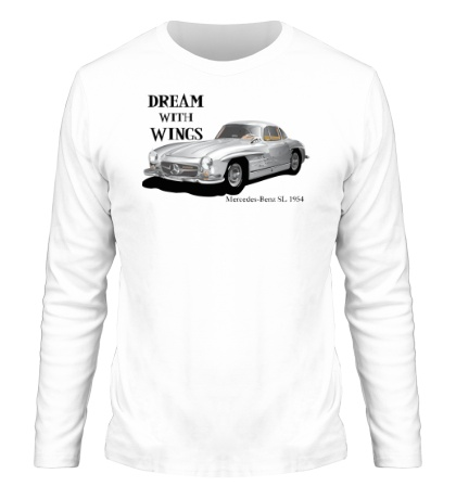 Мужской лонгслив Mercedes-Benz SL 1954