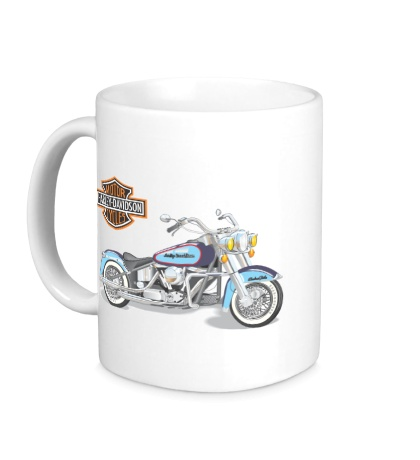 Керамическая кружка Мотоцикл Харлей
