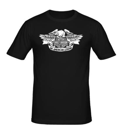 Мужская футболка Harley American Legend