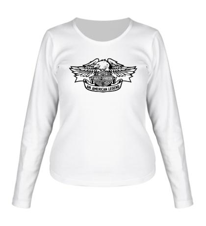 Женский лонгслив Harley American Legend