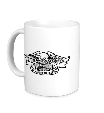 Керамическая кружка Harley American Legend