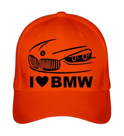 Бейсболка I love BMW