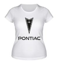 Женская футболка Pontiac