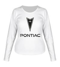 Женский лонгслив Pontiac